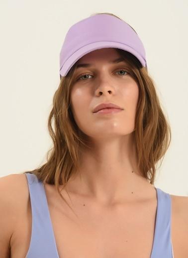Morhipo Beach Kadın Renkli Kasket Şapka MBKSS21SP0007 Lila
